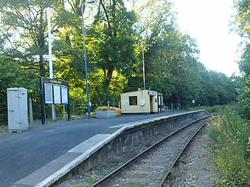 Causeland Railway Station on the Looe Valley Line