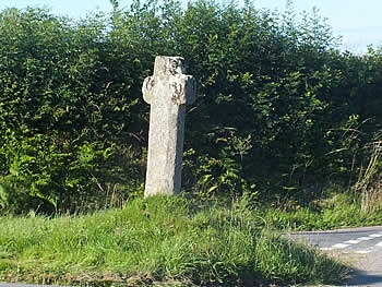 Bosent Cross is Grade II listed