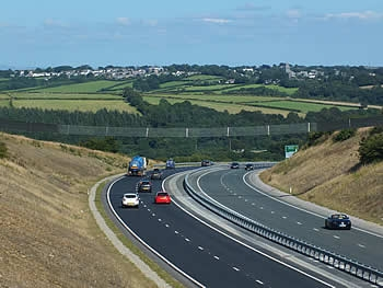 A38 Dual Carriageway bypassing Dobwalls