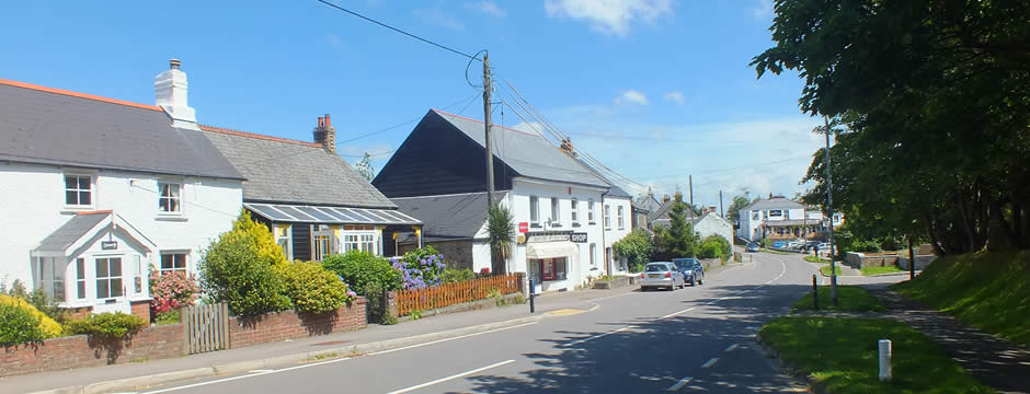 The main street in Dobwalls